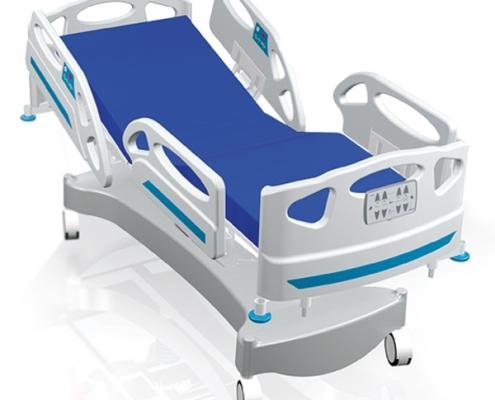 تخت بستری الکتریکی با چهار موتور (ICU/CCU)