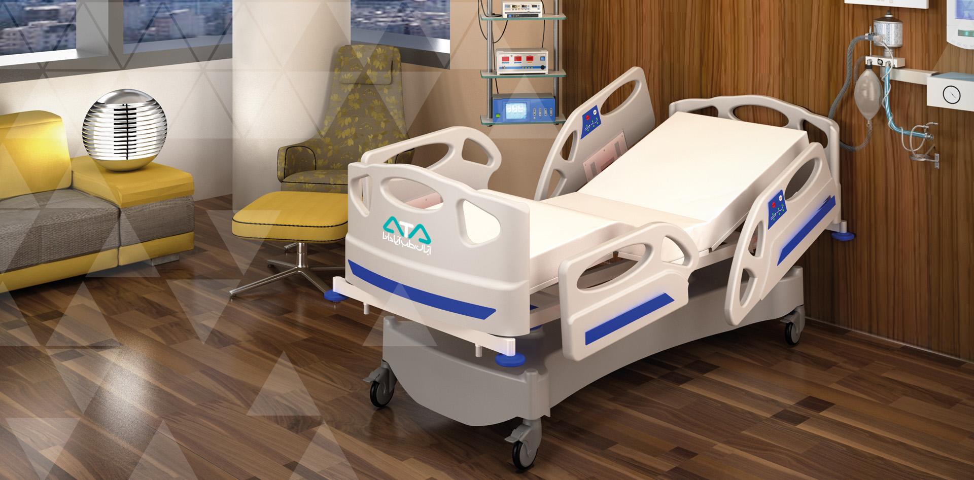 تخت بستری الکتریکی VIP